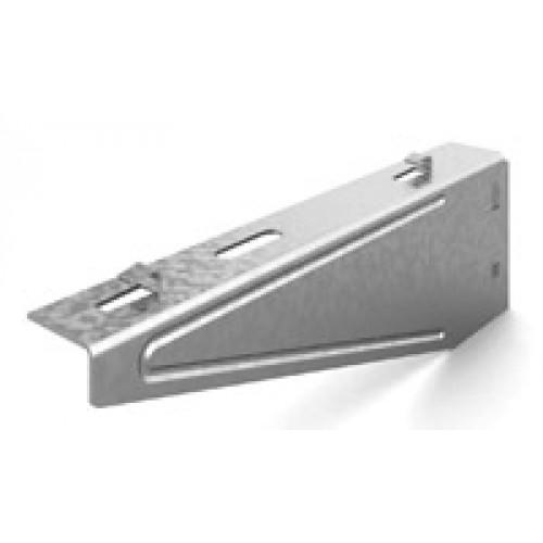 OSTEC Кронштейн настенный для проволочного лотка безвинтовой 300 мм