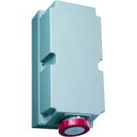 ABB Розетка для монтажа на поверхность с подключением шлейфа 3125RL6W, 125A, 3P+E, IP67, 6ч
