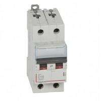 Legrand DX3 6000 Автоматический выключатель 10кА 2P 230/400В 16А 2 мод (D)