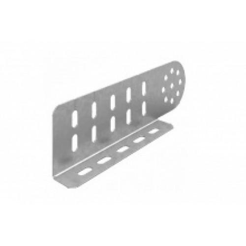 OSTEC Соединитель универсальный шарнирный для лотка УЛ высотой 80 мм (1,5 мм) (1 компл = 2 шт)