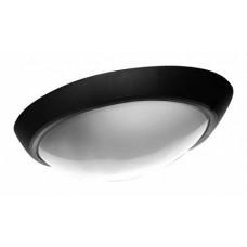 LL Eliptic 1x100W E27 Светильник накладной черн.(овал, мат.стекло) IP44