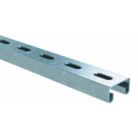 DKC С-образный профиль 41х21, L6000, толщ.2,5 мм, цинк-ламельный