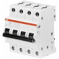 ABB Автомат.выкл-ль 4-полюсной S204MT-C0,5