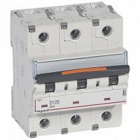 Legrand DX3 Автоматический выключатель 3P 125A (D) 25кА
