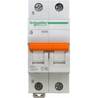 SE Домовой ВА63 Автоматический выключатель 1P+N 10A (C) 4.5kA