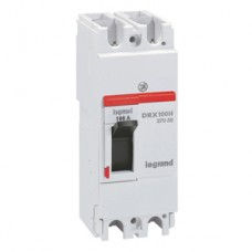 Legrand DRX125 термомагнитный 100A 2П 36KA