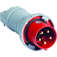 ABB P Вилка кабельная 4125P7W, 125А, 3P+N+E, IP67, 7ч