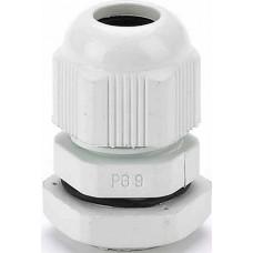 DEKraft КВ-101 Кабельный ввод типа PG 9 диаметр кабеля 4-9мм IP54