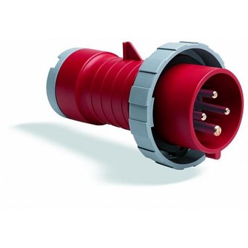 ABB P Вилка кабельная 416P3W, 16А, 3P+N+E, IP67, 3ч