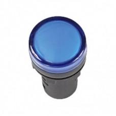 IEK Лампа AD22DS(LED)матрица d22мм синий 36В AC/DC