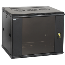 IEK ITK Шкаф LINEA W 6U 600x600 мм дверь стекло, RAL9005