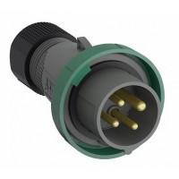 ABB Easy&Safe Вилка кабельная 332EP10W, 32А, 3P+E, IP67, 10ч