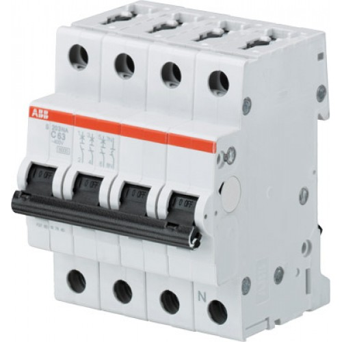 ABB S203 Автоматический выключатель 3P+N 40А (С) 6кА