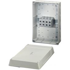 K 9504 Коробка распред с клеммником 4P без сальника 210x310x116 IP 65