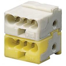 ABB KNX Клеммник белый/желтый