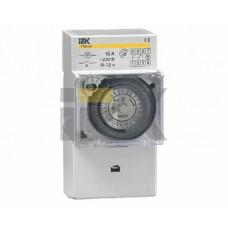 IEK Таймер ТЭМ181 аналоговый 16А 230В на DIN-рейку
