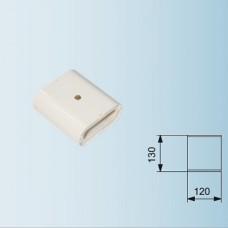 АСТЗ MI Соединительный элемент линейный (20 см), с 2 коннекторами ПК, белый
