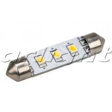 Arlight Автолампа ARL-F42-3E White (10-30V, 3 LED 2835)