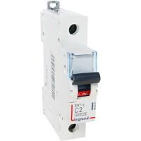 Legrand DX3-E Автоматический выключатель 1P 1А (С) 6000/6kA
