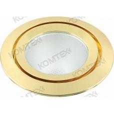 Comtech Appolo Светильник галогеновый встраиваемый HS 1x75W G9 золото