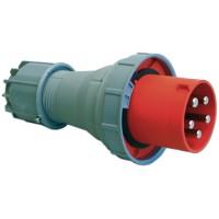DKC Вилка кабельная IP67 63A 2P+E 230V