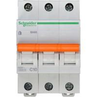 SE Домовой ВА63 Автоматический выключатель 3P 10A (C) 4.5kA