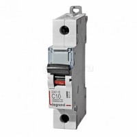Legrand DX3-E Автоматический выключатель 1P 10А (С) 6000/6kA