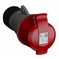 ABB Easy&Safe Розетка кабельная 332EC6,32А,3P+E,IP44,6ч