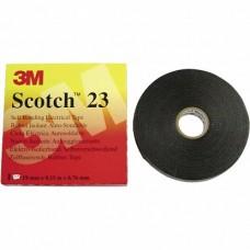 3M Scotch 23 Изоляционная лента самослип. резиновая в инд. уп., 19мм х 9,15м