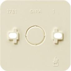Gira Крем Монтажная панель одинарная