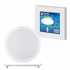 Volpe Светильник LED круглый 18W 4500К белый d225mm