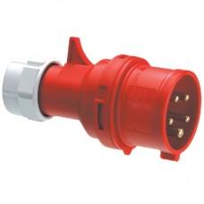 DKC Вилка кабельная IP44 16A 3P+E+N 400V