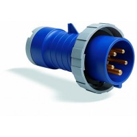 ABB P Вилка кабельная 232P1W, 32А, 2P+E, IP67, 1ч