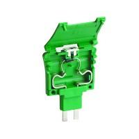 DKC Картридж под предохранитель 5х20. Предустановлен диодный индикатор. 12В (AC-DC). Тип CPF/5L12. Зеленый.