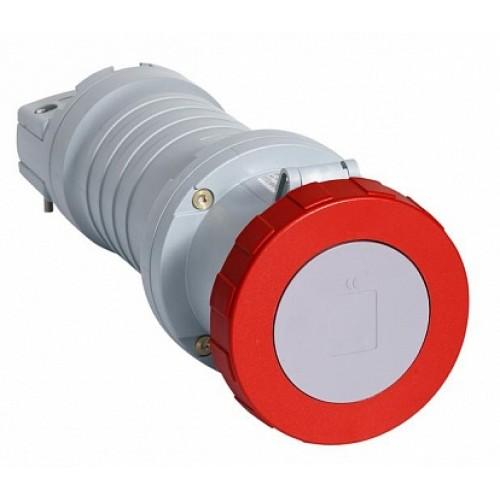 ABB C Розетка кабельная с удлиненными контактами 4125C6W, 125А, 3P+N+E, IP67, 6ч