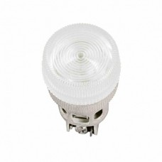IEK Лампа ENR-22 сигнальная d22мм белый неон/240В цилиндр