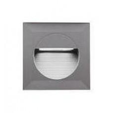LL LED BILEO B 0,8W Светильник для декор. подсветки, встраив. в стену, сер, 14xLED, IP65 4000К