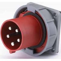 DEKraft ВЩ-102 Вилка для скрытой проводки 635 3Р+РЕ+N 63А 380В IP67