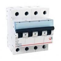 Legrand TX3 Автоматический выключатель 4P 10A (С) 6000