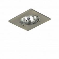 Lightstar Qua Бронза/Бронза/Бронза Встраиваемый светильник Qua 011938 GU5.3 1х50W IP20