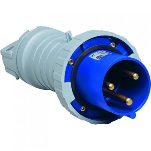 ABB P Вилка кабельная 363P9W, 63А, 3P+E, IP67, 9ч