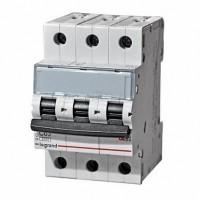 Legrand TX3 Автоматический выключатель 3P 50A (B) 6000