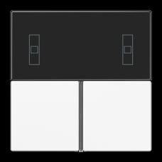 JUNG KNX Белый Набор накладок для комнатного регулятора