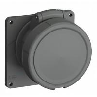 ABB Easy&Safe Розетка с прямым фланцем 432ERU1W,32A,3P+N+E,IP67,1ч