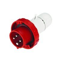 DKC Вилка кабельная с безвинтовыми клеммами IP67 32A 2P+E 230В