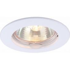 Arte Lamp Basic Белый Светильник точечный встаиваемый 1x50W 1xGU10