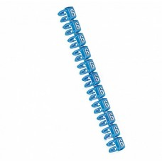 Legrand CAB3 Маркер для кабеля и клемм.блоков 6 0.5-1.5кв.мм. (синий) (упаковка)