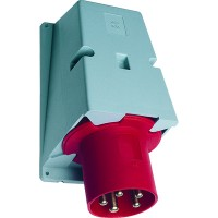 ABB BS Вилка для монтажа на поверхность 263BS6, 63A, 2P+E, IP44, 6ч
