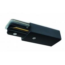 Arte Lamp Track Accessories Черный Коннектор-токоподвод для шинопровода (трека)