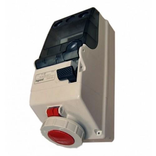 Legrand P17Щит.5мод. с блок. 16А 3К+З 380В IP66